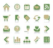 Internet & Web Icon Stock Photography