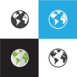 Internet and Web Icon Vector Illustration Royalty Free Stock Images