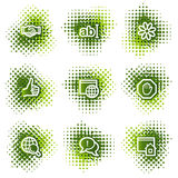 Internet web icons Royalty Free Stock Photos