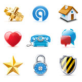 Internet and web icons | Bella series. Part 1 Royalty Free Stock Photo