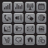 Internet web icons Stock Photo