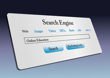 Internet web search Royalty Free Stock Photo