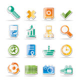Internet and Web Site Icons. Vector Icon Set Stock Image