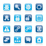 Internet and web site icons Royalty Free Stock Images