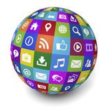 Internet And Web Social Media Concept Stock Images