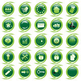 Internet website icons set Stock Photo