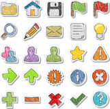 Internet, Website icons Set Stock Image