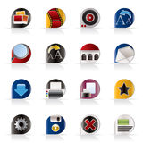 Internet and Website Icons - Vector Icon Set Stock Image