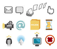 Internet & Website icons,Web Icons, icons Set Stock Images