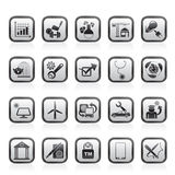 Internet and Website Portal icons Royalty Free Stock Image