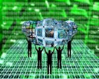 Internet-Welt Lizenzfreies Stockbild