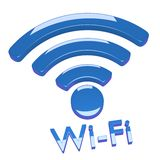 Internet wi-fi connection Stock Images