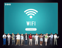 Internet Wifi Connection Access Hotspot Royalty Free Stock Image