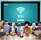 Internet Wifi Connection Access Hotspot Stock Photos