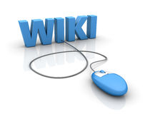 Internet Wiki Stock Photography