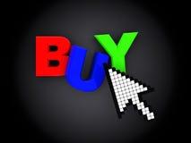 Internet-winkel Stock Foto