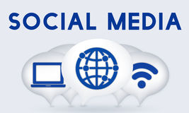 Internet Wireless Connection Icons Concept Royalty Free Stock Photos