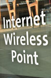 Internet Wireless Point Stock Image