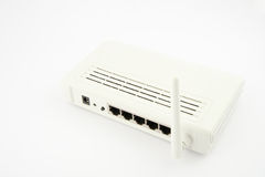 Internet wireless router Stock Photo