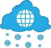 Internet-Wolke Lizenzfreies Stockfoto