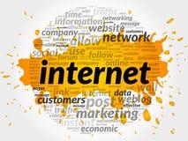 Internet words cloud