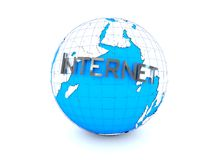Internet World Royalty Free Stock Photos
