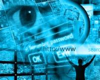 Internet world Royalty Free Stock Image