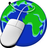 Internet, Www, Mouse, Web, Business Stock Image