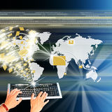 internet wysoka technologia Fotografia Royalty Free