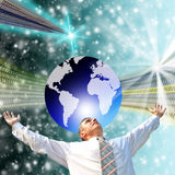 internet wysoka technologia Zdjęcia Royalty Free