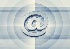 Internet-Zeichen Stockbild