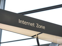 Internet Zone Stock Image