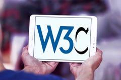 Interneta konsorcjum, W3C, logo Fotografia Royalty Free