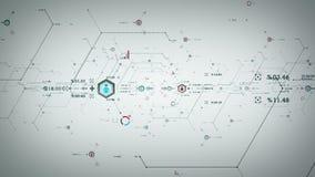 Internetdata Ports vit vektor illustrationer