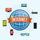 Internetdesign Arkivfoton