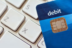 Internetköp och online-shopping Arkivfoton