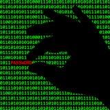 Internetkriminalität Stockfoto