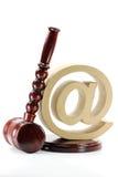 Internetkriminalität 01 Lizenzfreies Stockfoto