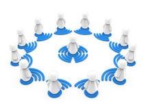 Internetonline-utbildningsbegrepp Royaltyfria Foton