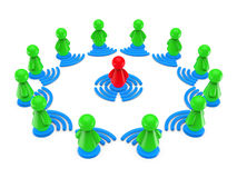 Internetonline-utbildningsbegrepp. Arkivfoton