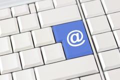 Internetowa domena, strona internetowa i email ikona, Obraz Stock