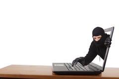 Internetowa Kradzież Zdjęcia Stock