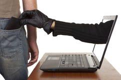 Internetowa Kradzież Fotografia Stock