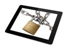 Internetowa ochrona Obrazy Stock