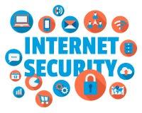 Internetowa ochrona Zdjęcia Royalty Free
