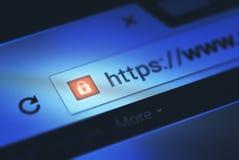Internetowa ochrona zdjęcie stock
