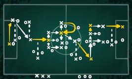 Internetowa strategia pisać na taktyki chalkboard Obrazy Royalty Free
