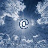 Internetowe komunikacje obrazy stock