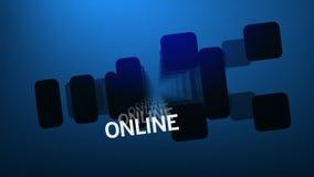 Internetowi technologii słowa (HD pętla) ilustracji