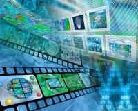Internetowy abstrakt Zdjęcia Stock